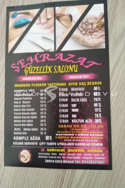 Şehrazat güzellik salonu olarak verdiği hizmetin fotoğrafı 2